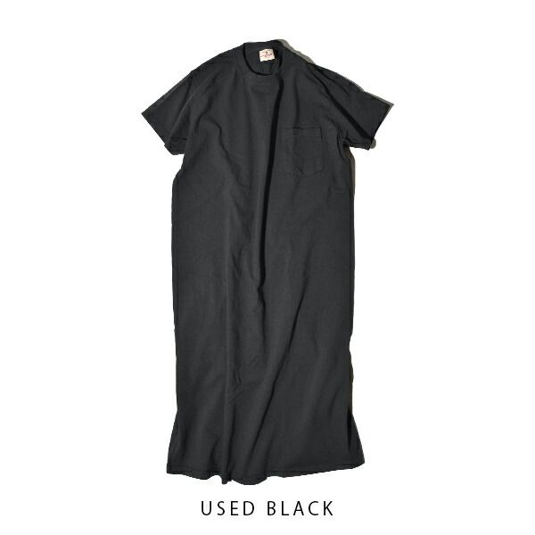 【国内正規品】グッドウェア Goodwear ワンピース ポケT TEE ポケット Tシャツ 丸胴 ホールガーメント アメリカ製