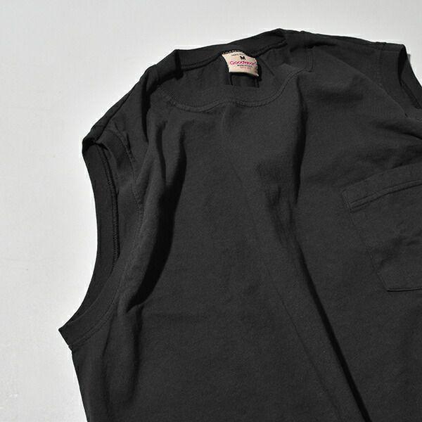 【国内正規品】グッドウェア Goodwear スリーブレス ワンピース ノースリーブ 丸胴 ホールガーメント アメリカ製
