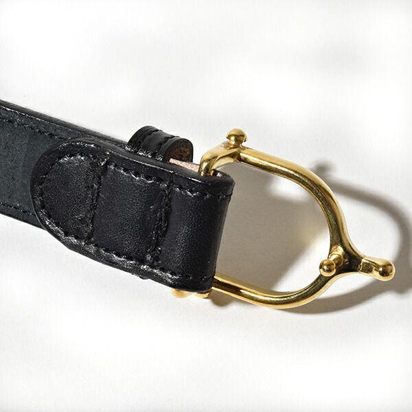 トリーレザー TORY LEATHER シュプール バックル ベルト Spur Buckle Belt Y字フック レザー 本革 牛革 アメリカ製 MADE IN USA