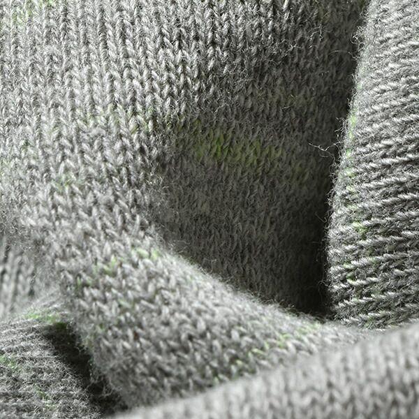 モクティ mocT レギュラーフィット ネオンスクリプト ループウィール クルーネック プルオーバ REGULAR FIT NEON SCRIPT LOOPWHEEL CREW-NECK PO / GR7×NEON GREEN