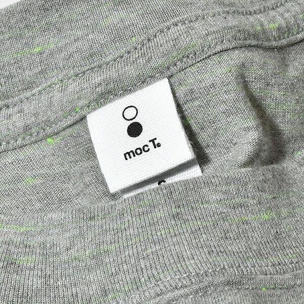 モクティ mocT レギュラーフィット ネオンスクリプト ロングスリーブ ポケットTEE ポケTEE 長袖 REGULAR FIT NEON SCRIPT LONG SLEEVE POCKET TEE / GR7×NEON GREEN
