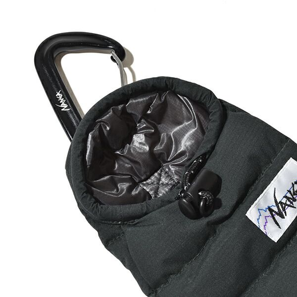 ナンガホワイトレーベル 携帯ケース スマホケース ミニスリーピングバッグ オーロラテックス ライト ストレッチ 防水 NANGA WHITE LABEL MOONLOLID EXCLUSIVE EDITION Mini sleeping bag phone case AURORA TEX stretch