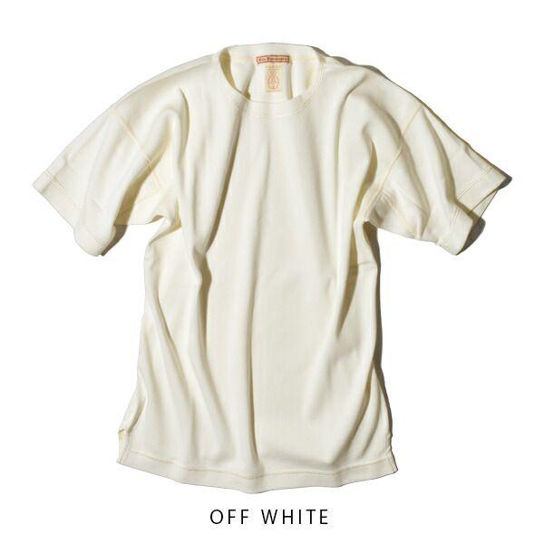 オールドホームステッダー ヘビーウエイト リブ クルーネック ショートスリーブ 半袖 Tシャツ Olde Homesteader HEAVY WEIGHT CREW NECK SHORT SLEEVE SWEAT US007 カットソー ニット ギフト プレゼント 日本製