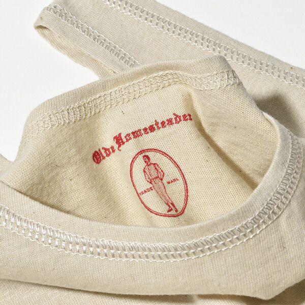 オールドホームステッダー ラスティックジャージー タンクトップ メンズ オーセンティックシャツ 肌着 Olde Homesteader US009 ギフト プレゼント 日本製