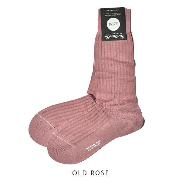 パンセレラ メンズ 靴下 メリノ ウール 5×3リブ ソックス 5796 PANTHERELLA MENS