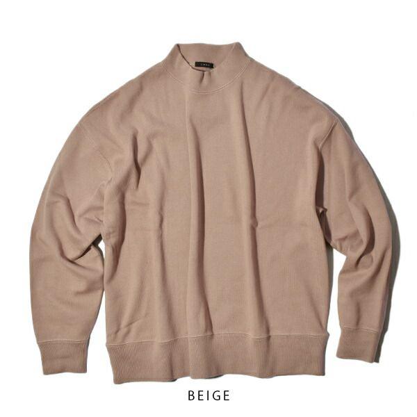 LENO リノ MOCK NECK LONG T-SHIRT モックネックロングTシャツ ユニセックス