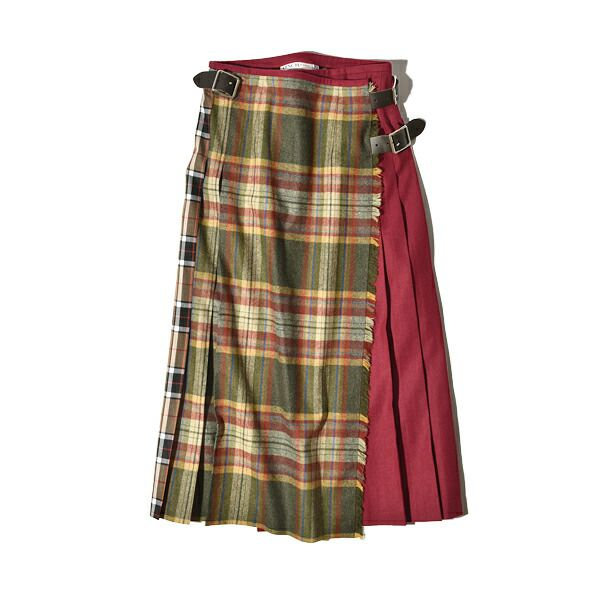 オニール オブ ダブリン 別注 マルチコンボ ラップスカート キルトスカート ロングスカート O'neil of Dublin 巻スカート ロング丈
