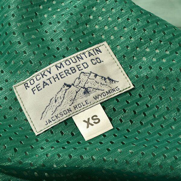 ロッキーマウンテンフェザーベッド スワッガーコート タスランナイロン メンズ レディース Rocky Mountain Featherbed Swagger Coat Taslan Nylon レインコート スプリングコート ステンカラーコート