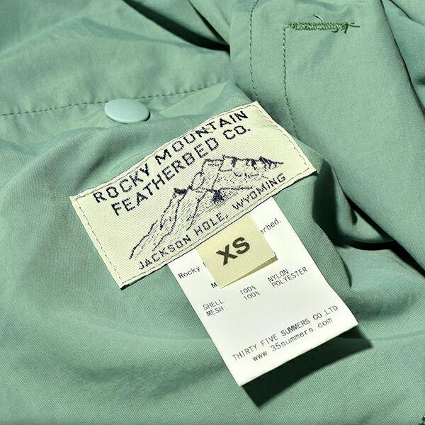 ロッキーマウンテンフェザーベッド ハングアウトパンツ タスランナイロン メンズ レディース Rocky Mountain Featherbed Hangout Pants Taslan Nylon レインコート スプリングコート ステンカラーコート