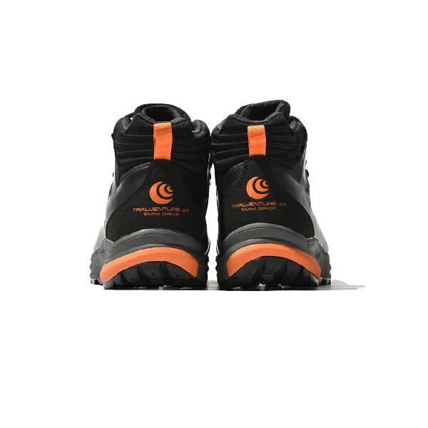 トポ アスレチック トポ トレイルベンチャー ブーツ マウンテンブーツ スニーカー Topo athletic TRAILVENTURE WP ランニングシューズ トレラン ハイキング 5002151 メンズ 20 Black/Orange Vibram® ビブラムソール