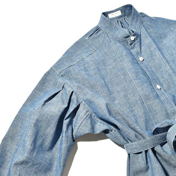 ANATOMICA アナトミカ レディース タスカン ドレス シャンブレー ワンピース TUSCAN DRESS CHAMBRAY