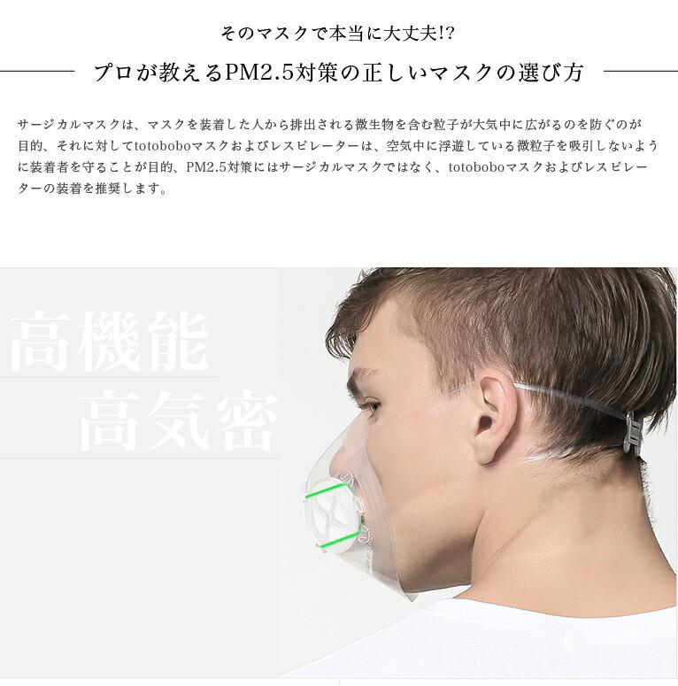 PM2.5対策 マスク totobobo 子供