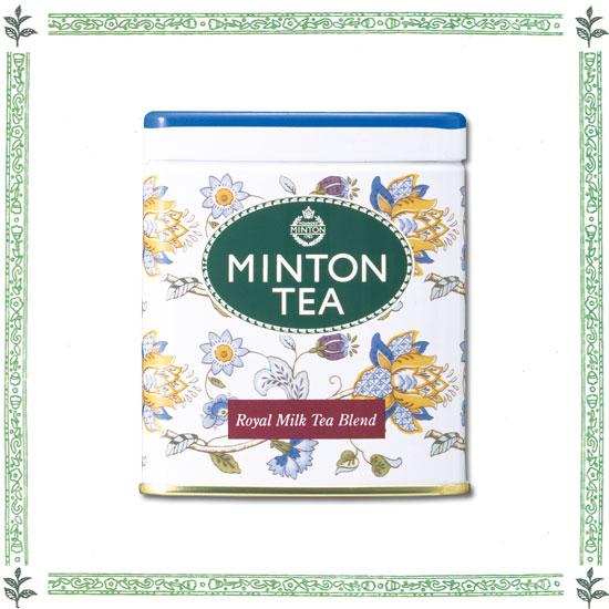 MINTON ロイヤルミルクティーブレンド 80g缶入り
