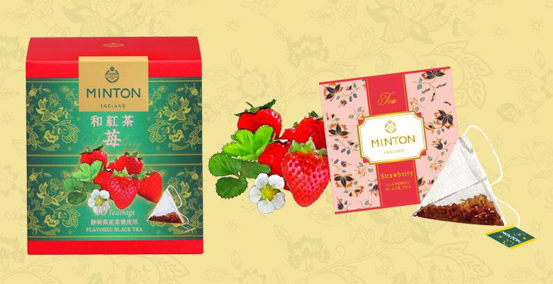 ミントン 和紅茶 苺 茶葉、ティーバッグ