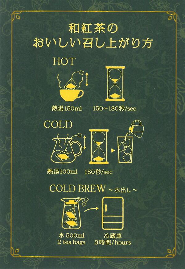 和紅茶のおいしい召し上がり方