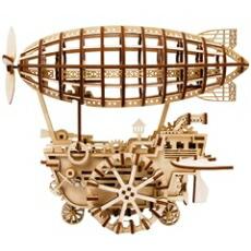 3Dウッドパズル 飛行船