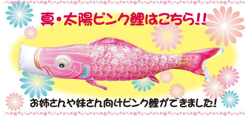 真・太陽ピンク鯉