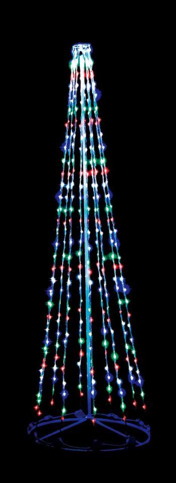 LEDデラックスストリングツリー300cmミックス【イルミネーション】