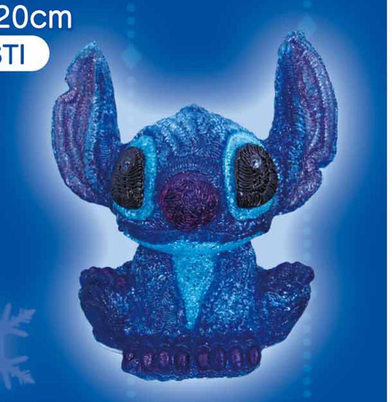 LEDテーブルクリスタルライトスティッチ【イルミネーション】クリスマスイルミネーションモチーフ