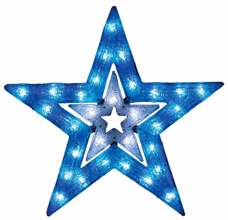 LED2Dブリリアントスター(L)【イルミネーション】クリスマスイルミネーションモチーフ