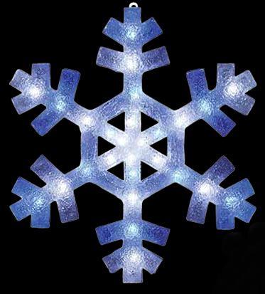 LED 2Dブリリアント スノーフレーク