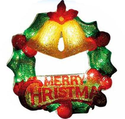 LED2Dブリリアントリースツインベル【イルミネーション】クリスマスイルミネーションモチーフ
