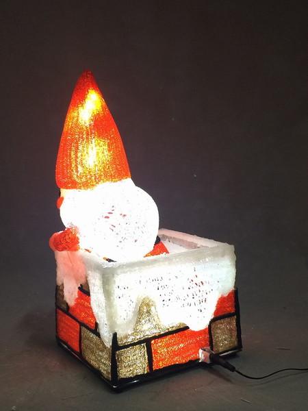 サンタの森煙突サンタクリスマスイルミネーション!