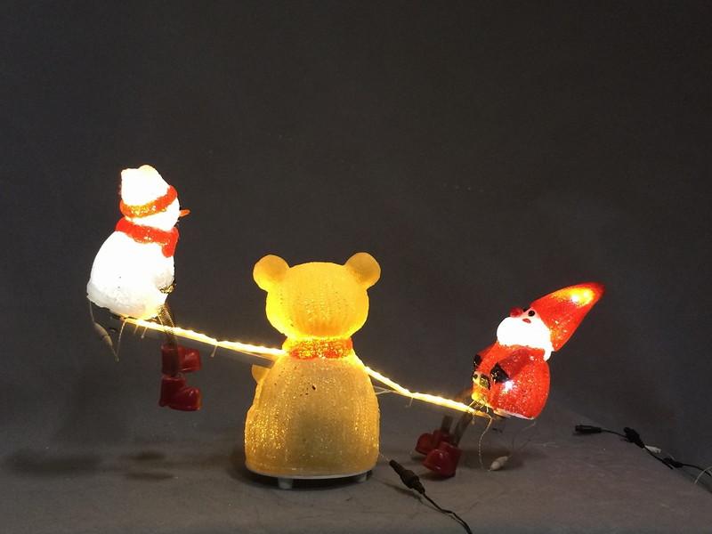 ムービングブリリアントMVシーソー【イルミネーション】3Dブリリアントムービングモチーフ【送料無料!】