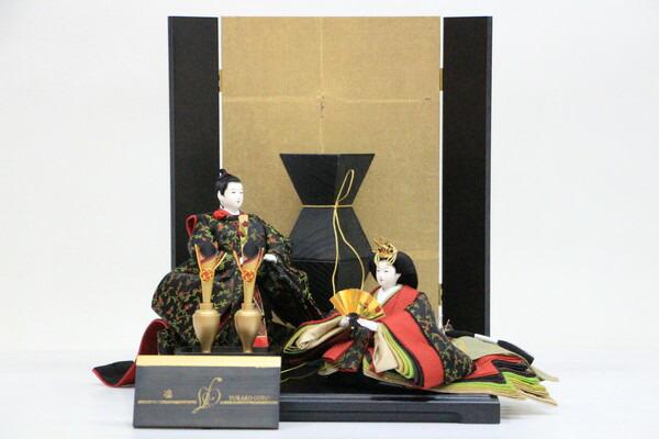 アート&デザイン後藤由香子創作雛人形PICCOLOシリーズ凛【雛人形親王飾り】
