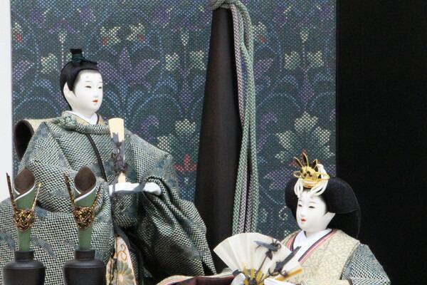 アート&デザイン後藤由香子創作雛人形PICCOLOシリーズ深山【雛人形親王飾り】