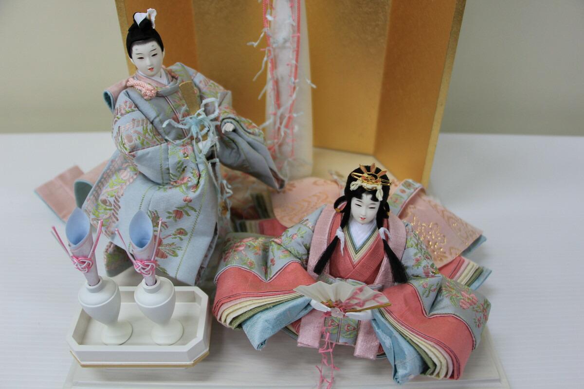 アート&デザイン後藤由香子創作雛人形PICCOLOシリーズ初恋【雛人形親王飾り】