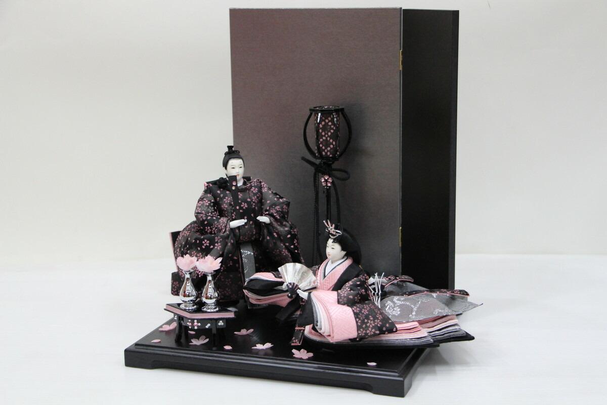 アート&デザイン後藤由香子創作雛人形PICCOLOシリーズSAKURA【雛人形親王飾り】