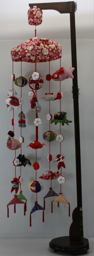 電動回転雛吊るし飾り円寿(三月雛人形)