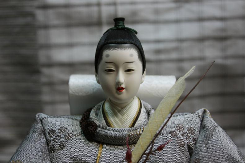 アート&デザイン後藤由香子作エニシ創作雛人形平飾り【雛人形親王飾り】