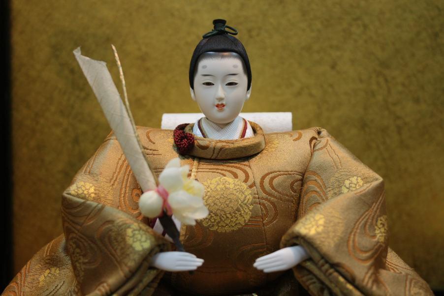アート&デザイン後藤由香子作みやび創作雛人形平飾り【雛人形親王飾り】