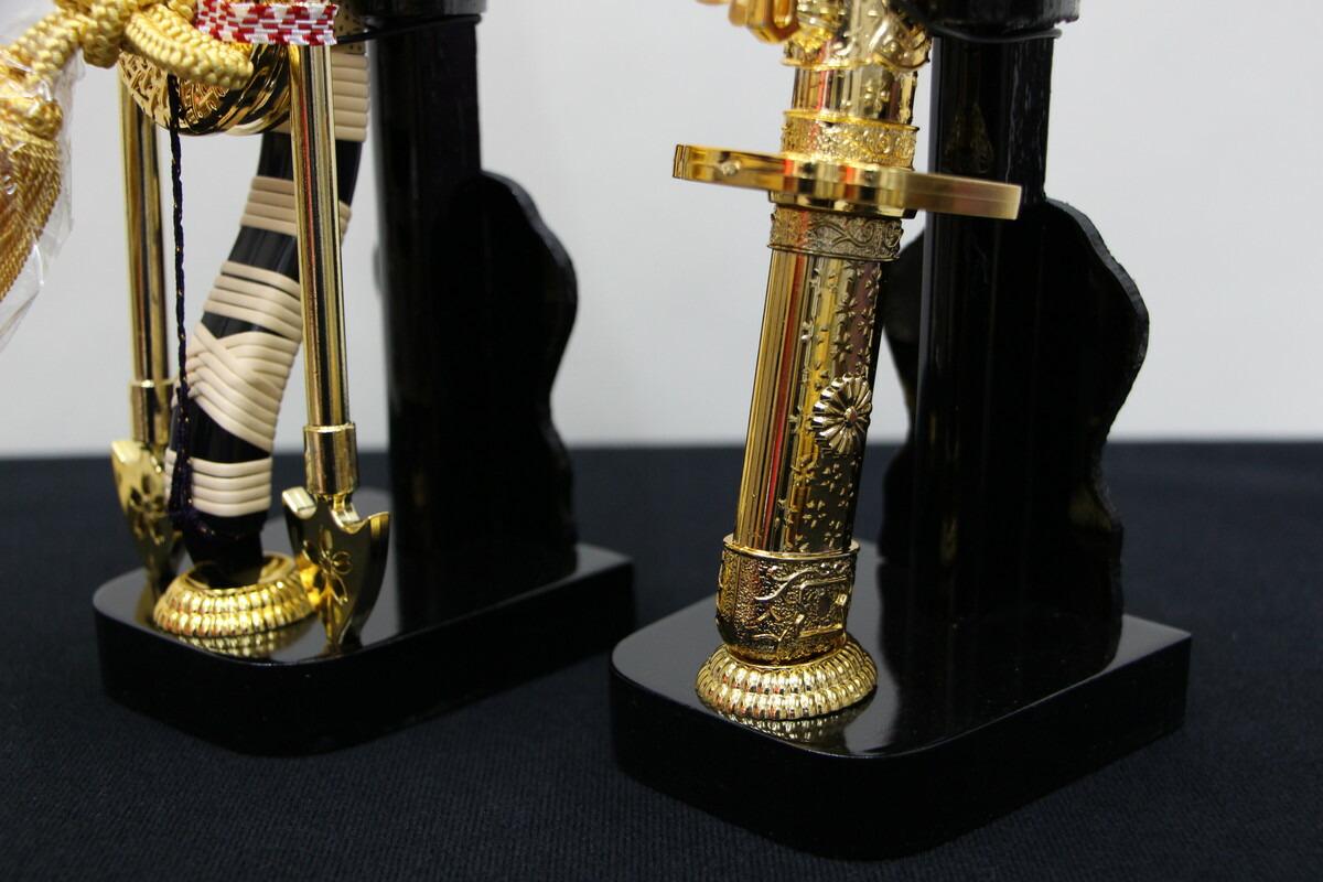 10号徳川家康兜10358黒収納黒屏風セットこどもの日五月人形収納飾りコンパクト