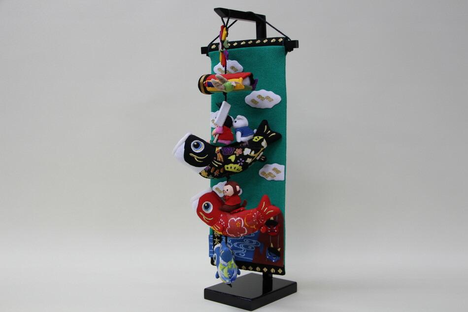 室内鯉のぼり桃太郎特小サイズ五月人形お祝い端午の節句コンパクトおしゃれ