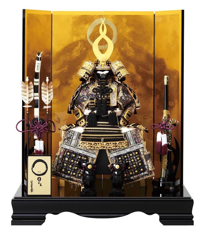10号鎧平飾り昇龍