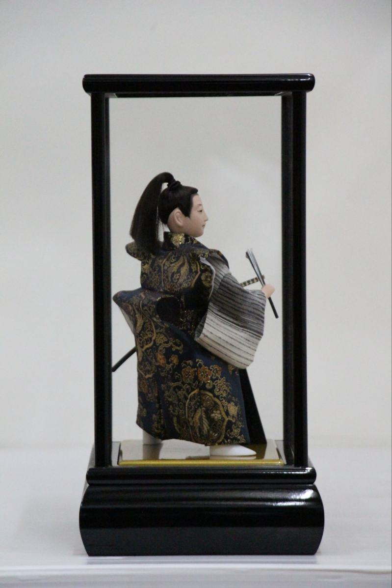 創作人形侍アクリルケース黒5号