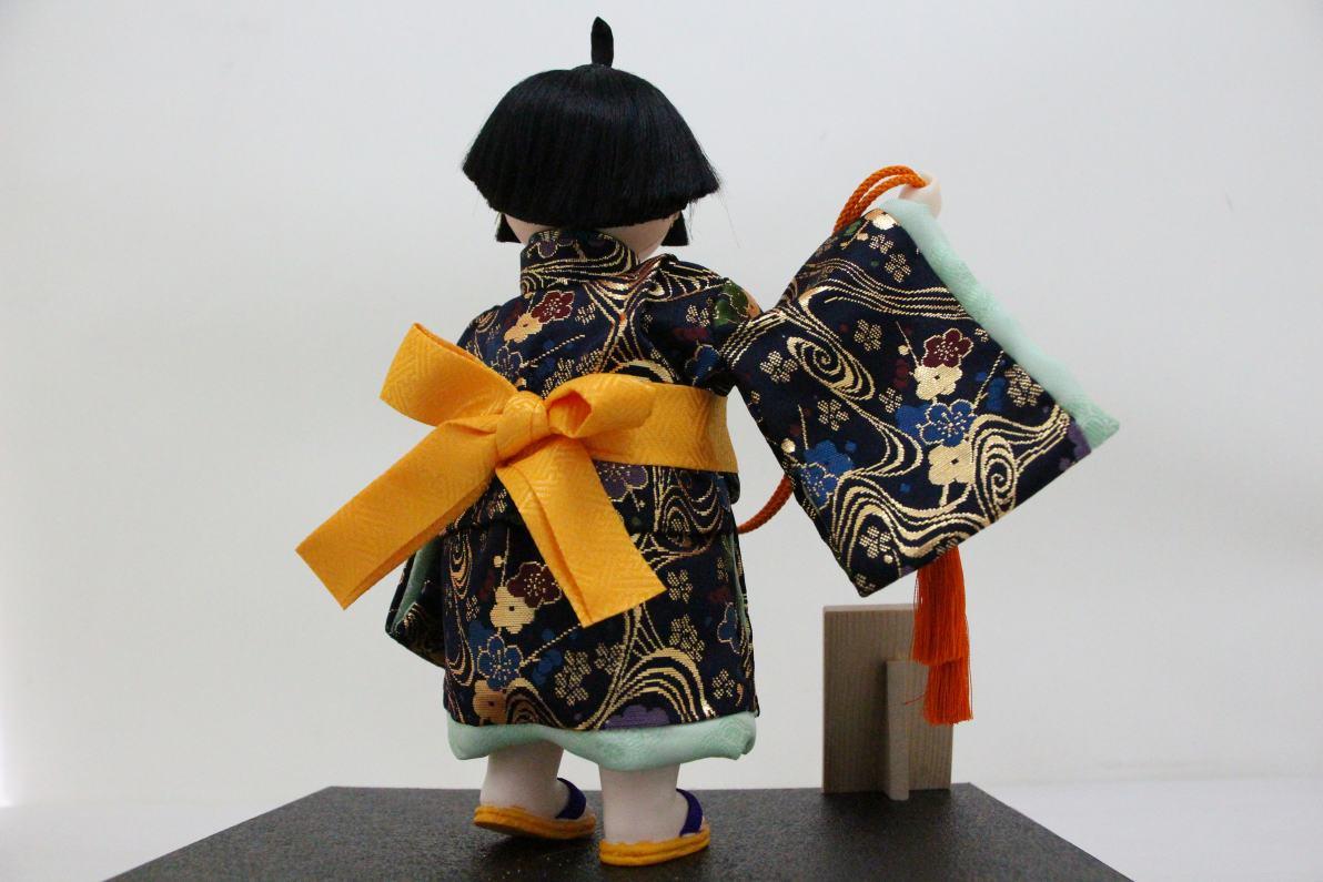 5号わらべ人形福鈴木製ケース