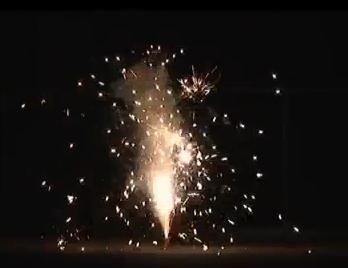 光・音のシンフォニー【噴出し花火】【新作花火】