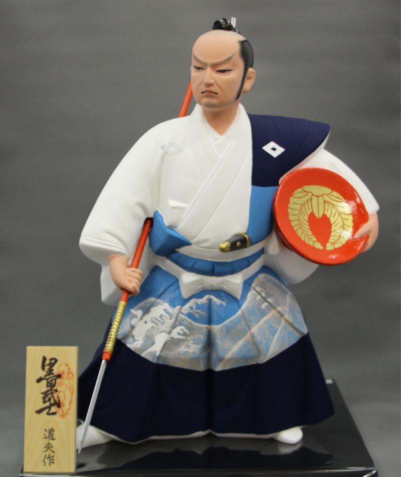 黒田武士(金波)【博多人形】