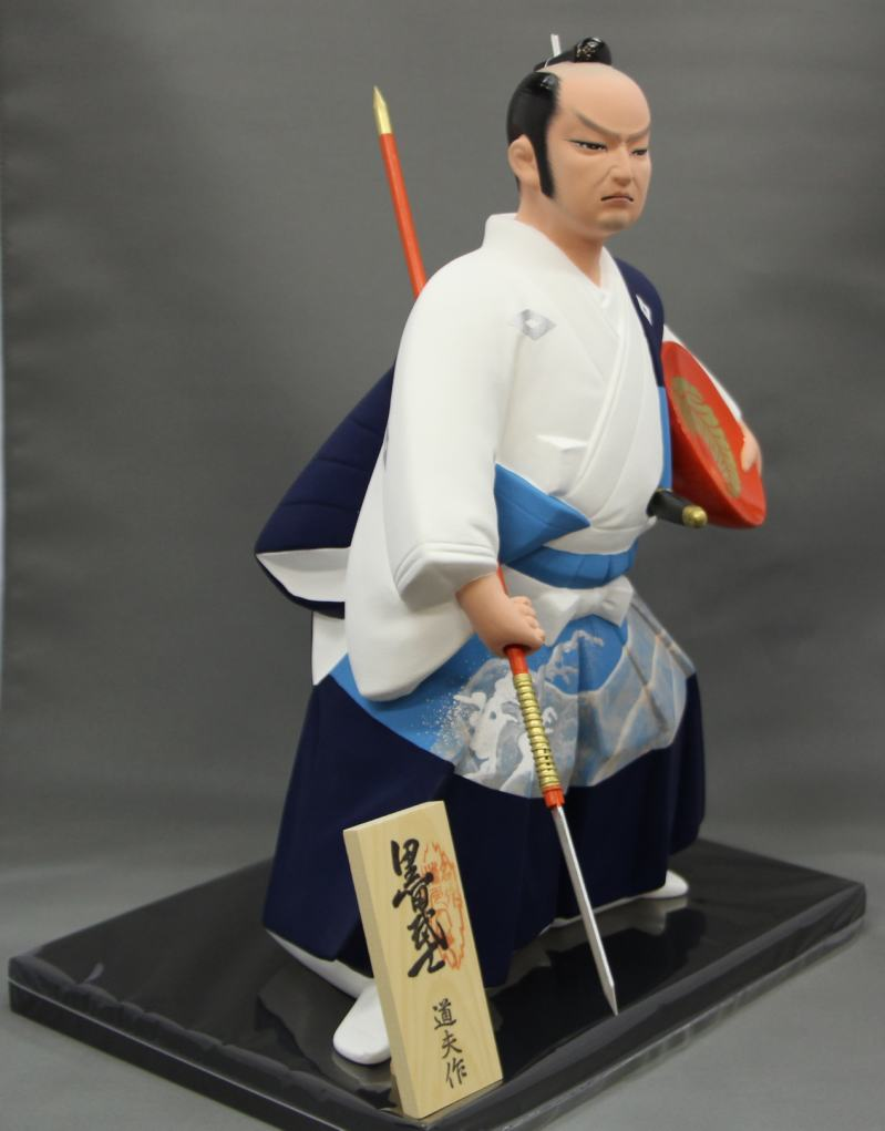 黒田武士M【博多人形】