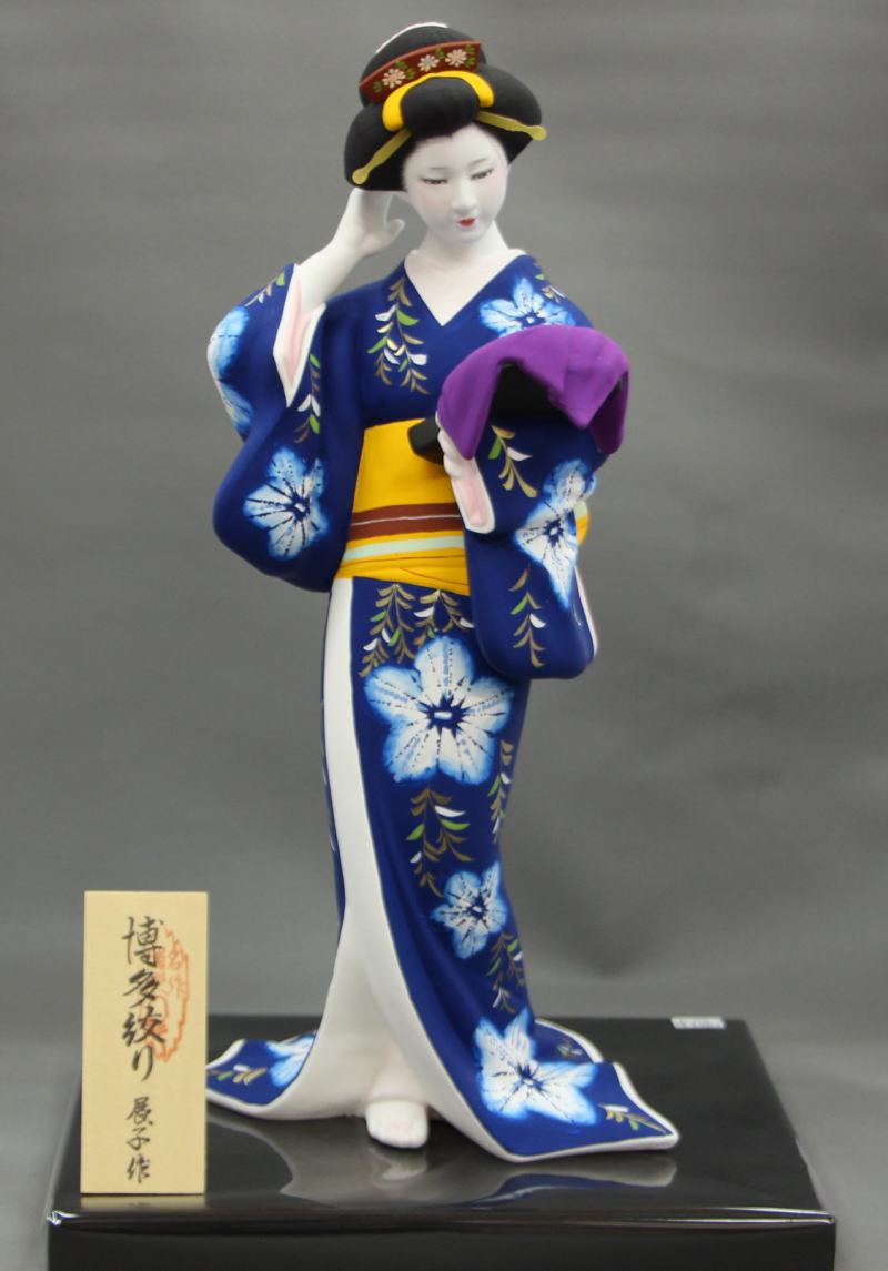 鶴の舞【博多人形】