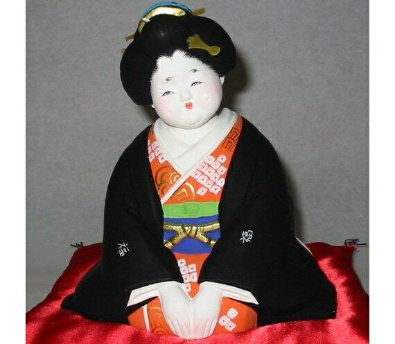 お福さん【博多人形】お福人形
