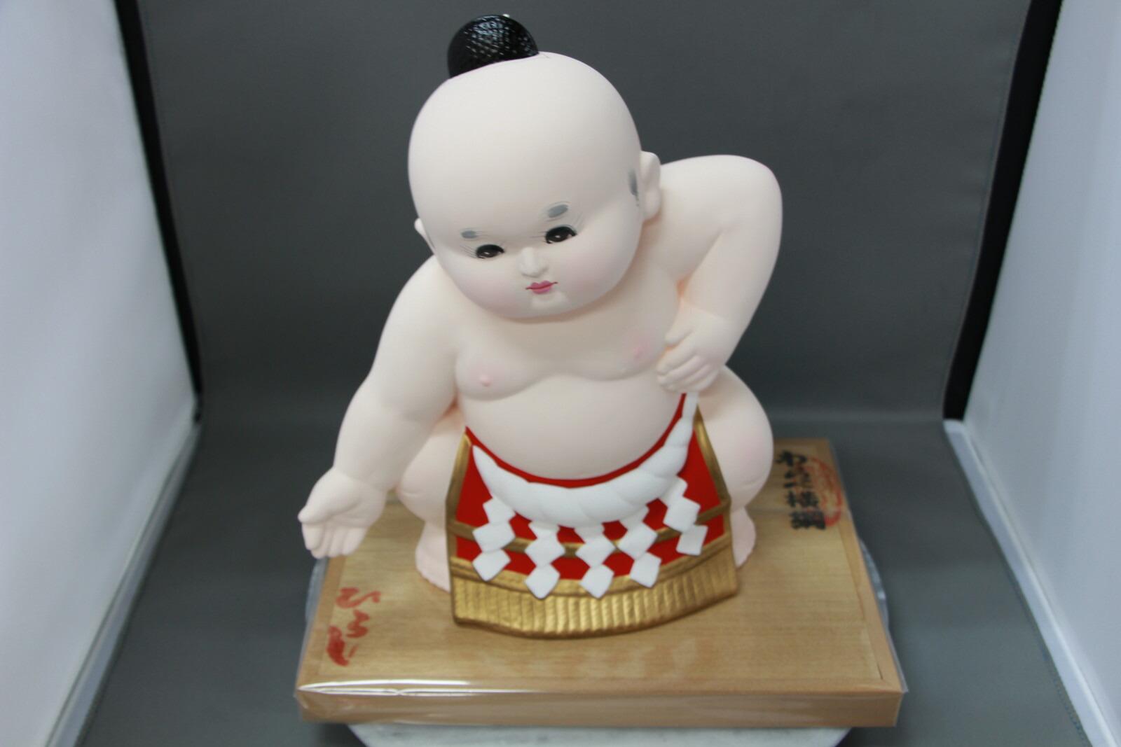 童横綱(大)【博多人形】