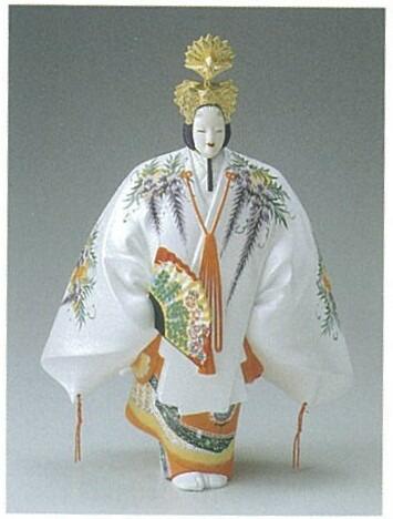羽衣(新)【博多人形】