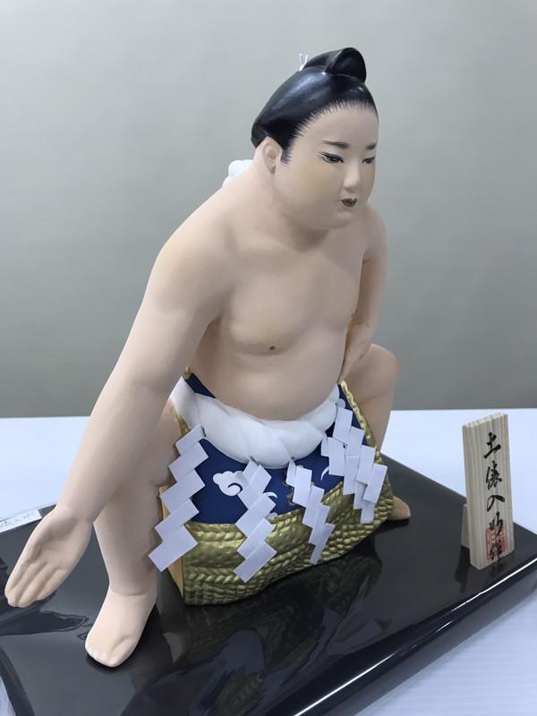 土俵入り(小)【博多人形】