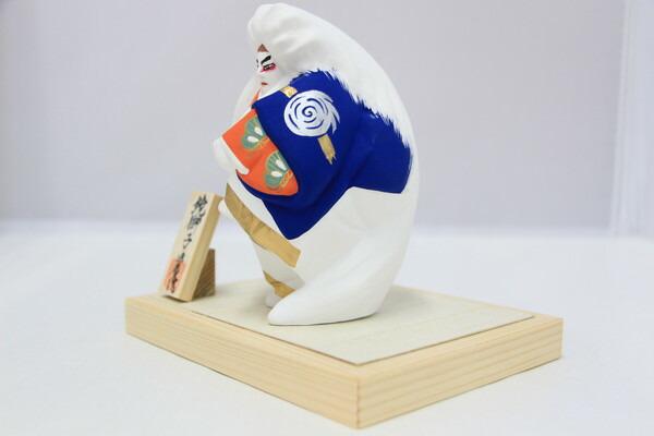 鏡獅子(ミニ)【博多人形】