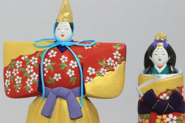 雛(立)【博多人形】